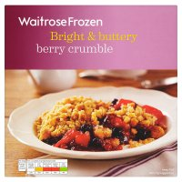 Waitrose Frozen summer berries crumble