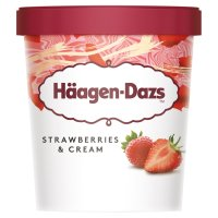 Haagen Dazs Strawberries & Cream
