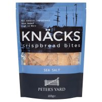 Peter's Yard Knäcks Crispbread Bites Sea Salt
