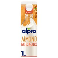 Alpro unsweetened fresh almond milk