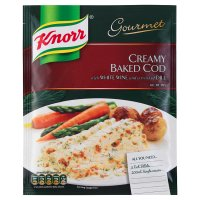 Knorr recipe mix creamy baked cod