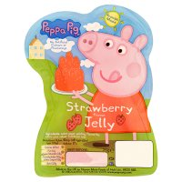 Peppa Pig strawberry jelly