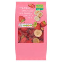 Waitrose LOVE life strawberry & banana smoothie mix