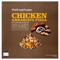 Waitrose Stone Baked chicken arrabiata pizza