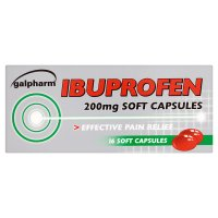 Paramed easy to swallow liquid ibuprofen capsules (pack of 16)