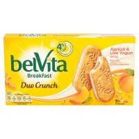 Belvita Breakfast biscuits duo crunch apricot