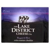 The Lake District Cheese Co extra mature cheddar