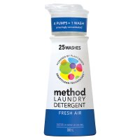 Method laundry detergent fresh air 25 washes