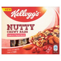 Kellogg's Nutty Chewy Bars Cranberries & Almond