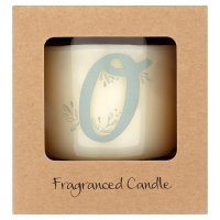 Waitrose Alphabet O Coconut & Sandalwood Candle