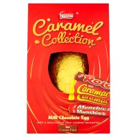Nestlé caramel collection milk chocolate egg