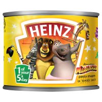 Heinz Madagascar pasta shapes