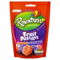 Rowntrees Fruit Pastilles Strawberry & Blackcurrant