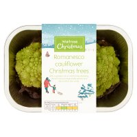 Waitrose Romanesco Christmas Trees