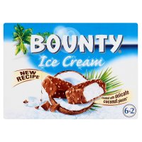 Bounty 6 ice cream bars