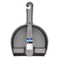 Image of Addis silver dustpan set