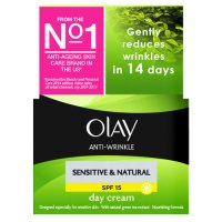 Olay anti-wrinkle sensitive day cream