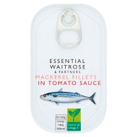 Essential Waitrose mackerel in tomato sauce