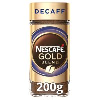NESCAFE Gold Blend Decaff Instant Coffee 200g