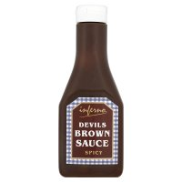 Inferno devils brown sauce spicy