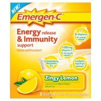 Emergen-C zingy lemon