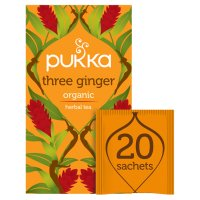 Pukka three ginger 20 sachets