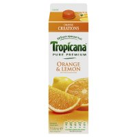 Tropicana juice orange & lemon