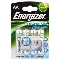 Energizer rechargeable AA 2450mAh