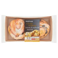 Waitrose Lemon & Sultana Danish