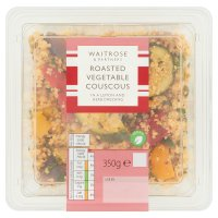 Waitrose couscous & roasted vegetable salad