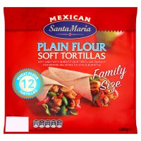 Santa Maria Family Pack Tortillas 12s
