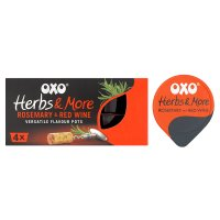 Oxo herbs & more rosemary & red wine