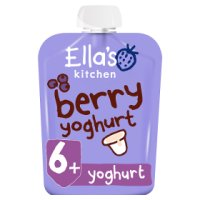 Ella's kitchen berry yummy yoghurt Greek style