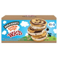 Ben & Jerry's Cookie Dough 'Wich 3s