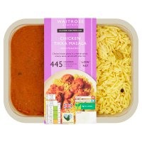 Waitrose Love life you count chicken tikka masala with pilau rice