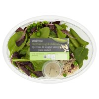 Waitrose quinoa & sugar snap pea salad