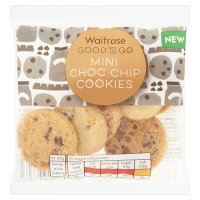 GOOD TO GO mini choc chip cookies