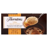Thorntons secret centre toffee