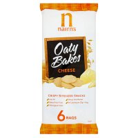 Nairns 6 oaty bakes cheese
