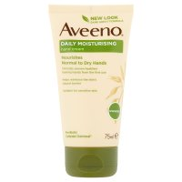 Aveeno hand cream with oatmeal