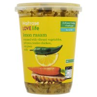 Waitrose LOVE life lemon rasam soup