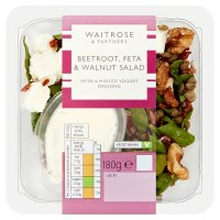 Waitrose beetroot feta & walnut salad