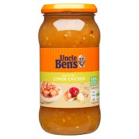 Uncle Ben's Oriental lemon chicken with ginger sauce