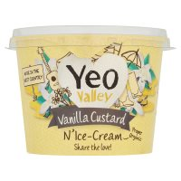 Yeo Valley vanilla custard n'ice-cream