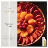 Waitrose Seriously frozen tarte aux fruit