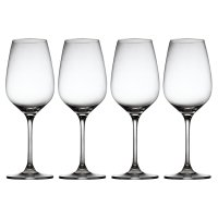Waitrose Chefs'crystal white wine glasses