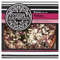 Pizza Express Romana thinner base padana
