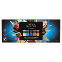 Green & Black's Organic, 12 mini bars of milk & white chocolate