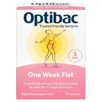 OptiBac Probiotics one week flat