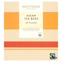 Waitrose 100 Assam tea bags